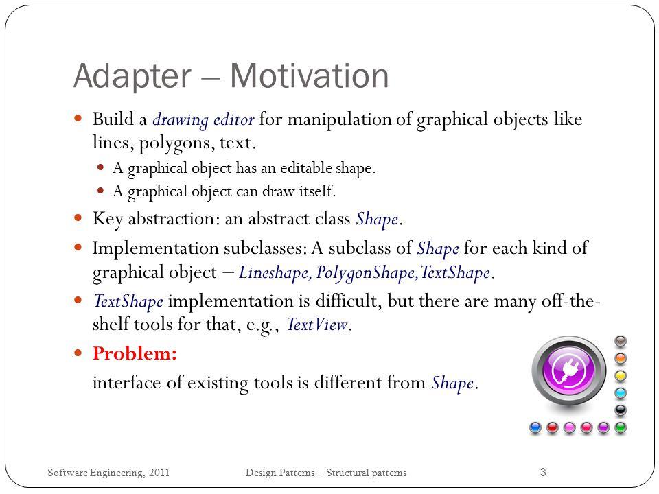 Software Engineering Structural Design Patterns Ppt Download