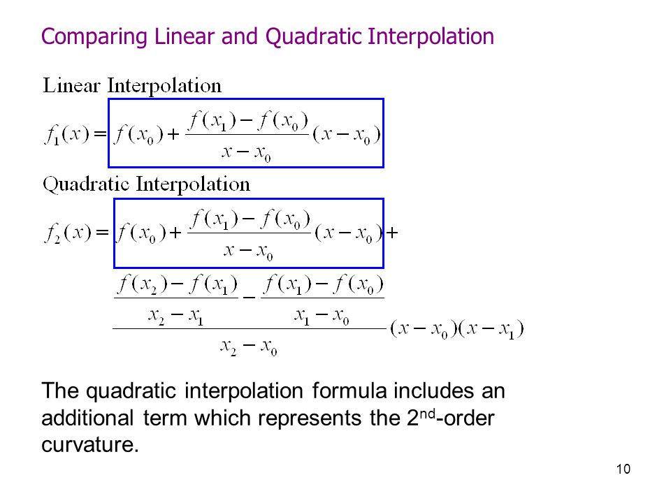 curvefitting interpolation ppt video online download