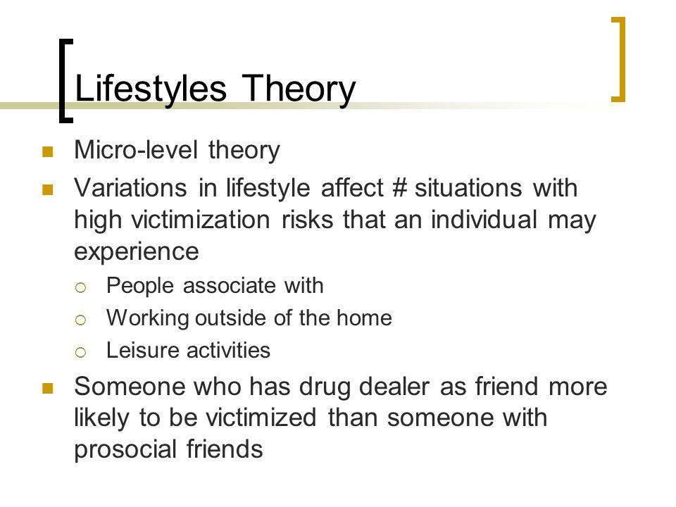 lifestyle theory of victimization