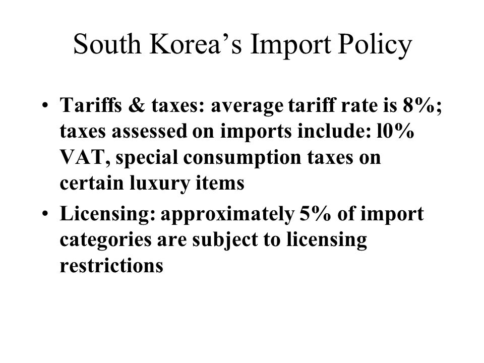 Significance of Trade Between The United - ppt download