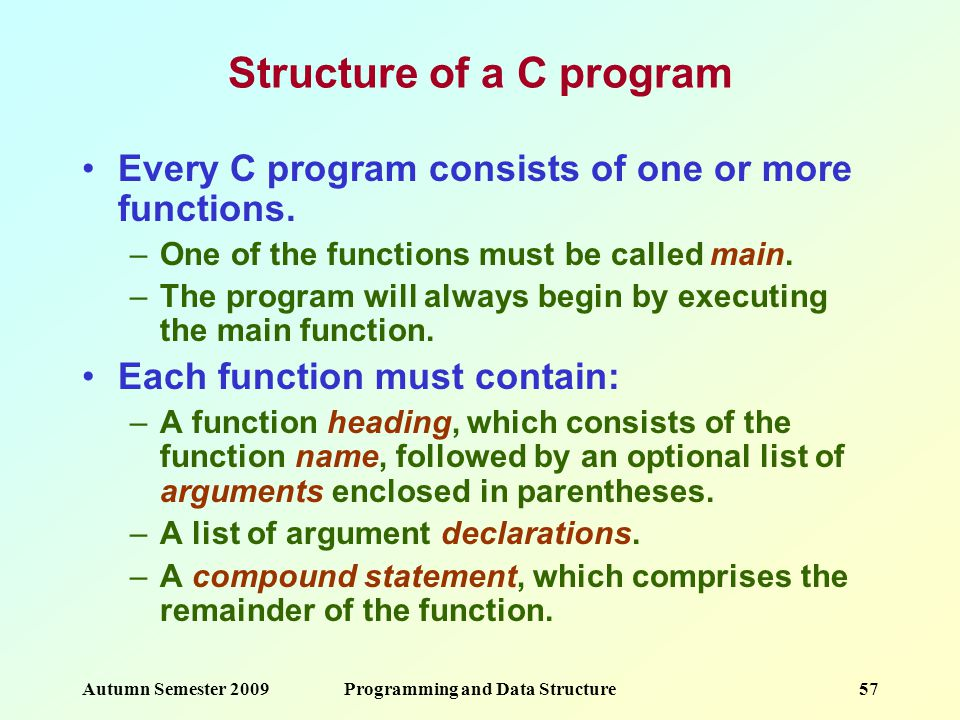 Programming and Data Structure - ppt download