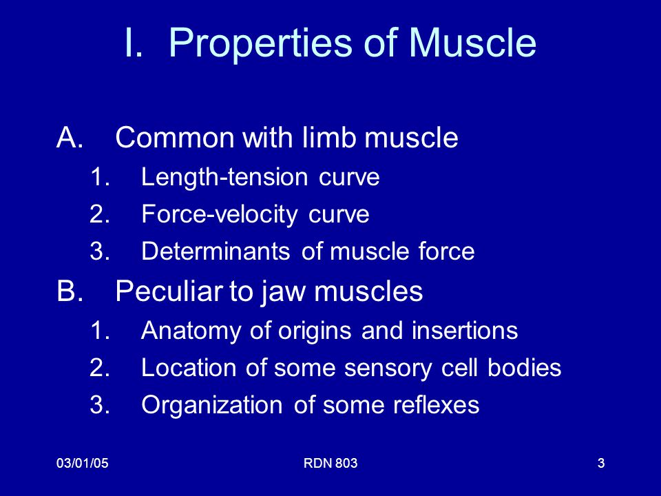 The Musculature RDN 803 Principles of Occlusion - ppt video online ...