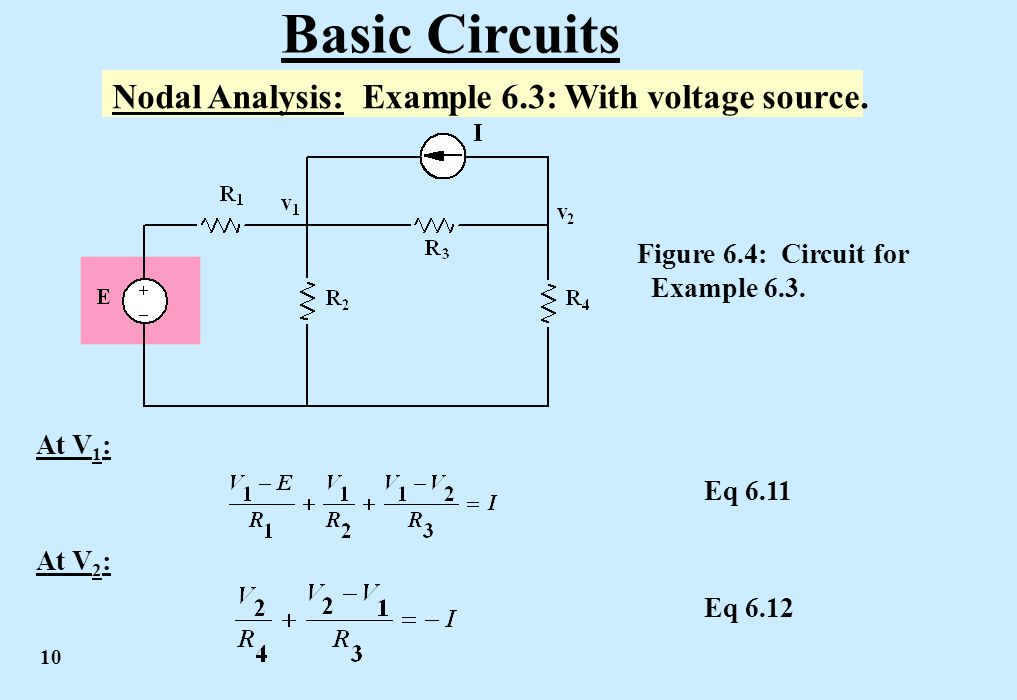Circuit nodal analysis how to conduct nodal analysis and to find.