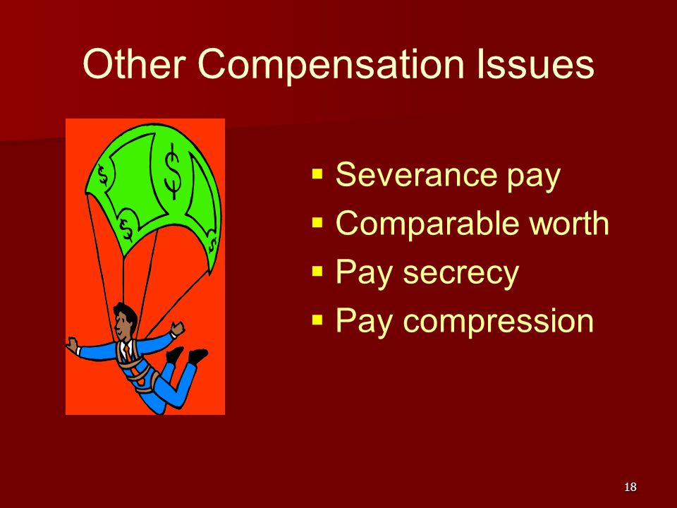 Other Compensation Issues