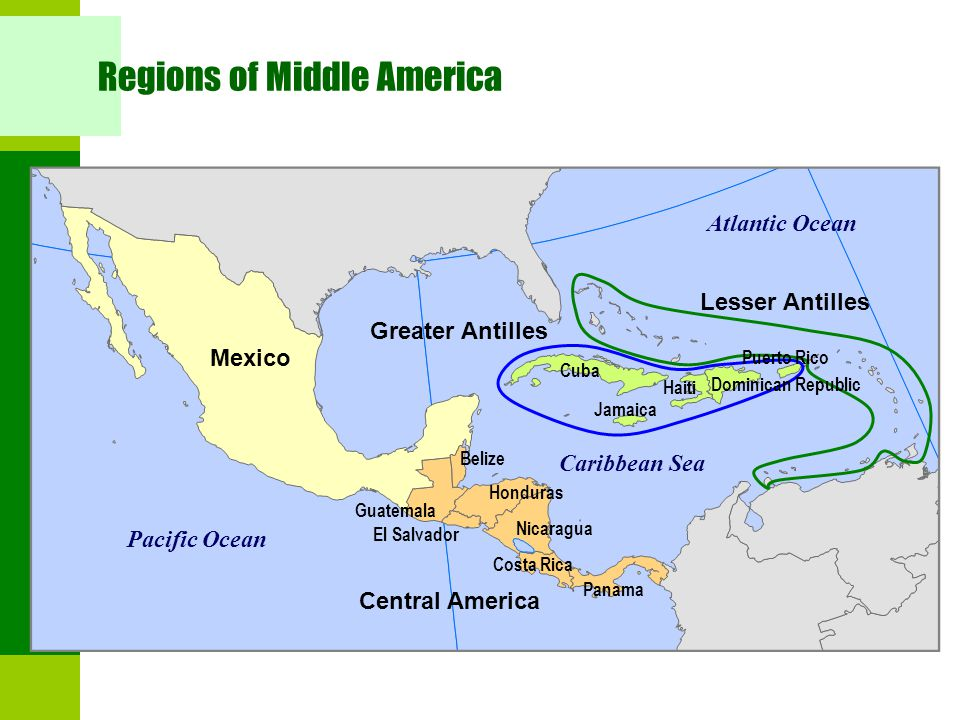 Chapter 4 – Middle America - ppt download