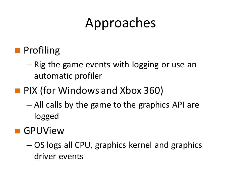 Tools for Investigating Graphics System Performance - ppt