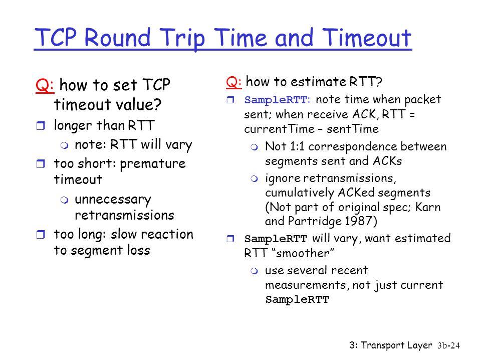 TCP Details: Roadmap Data Flow Timeout/Retransmission - ppt