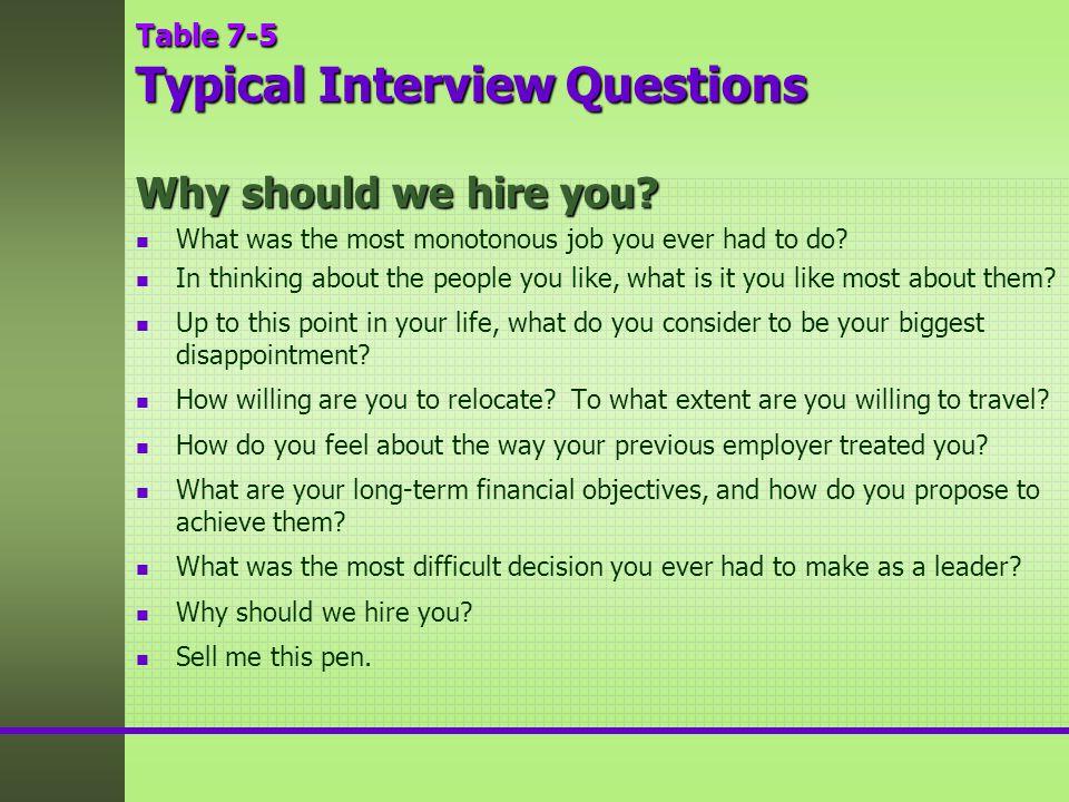 standard job interview questions - 960×720
