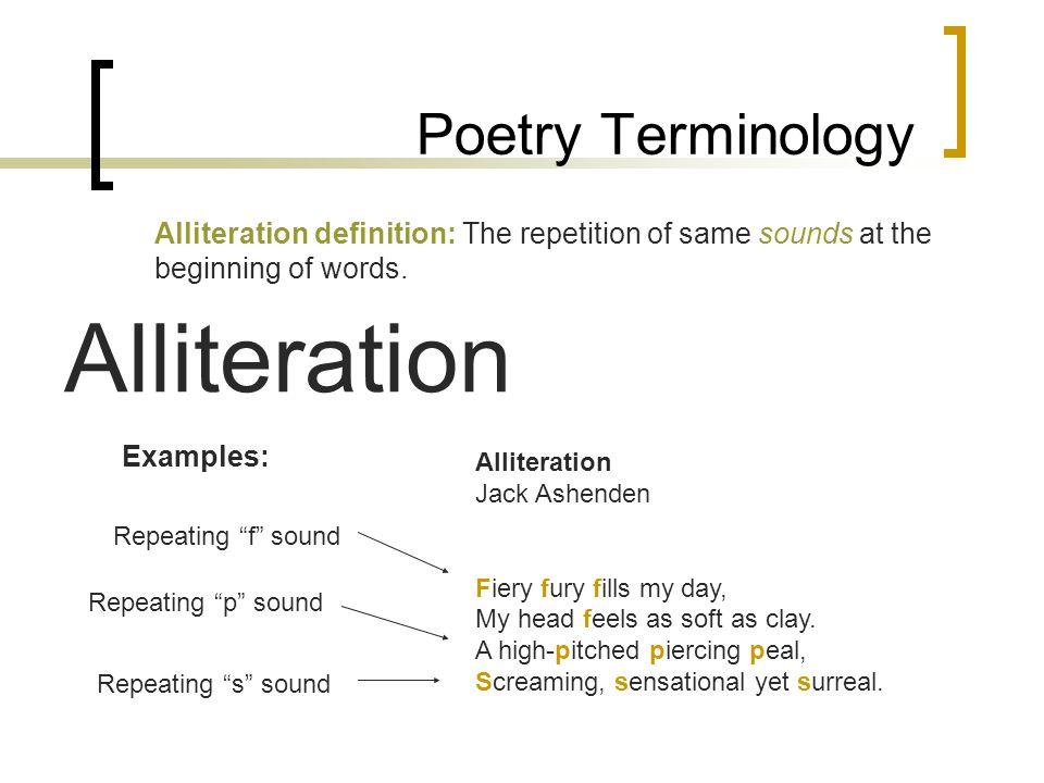 Alliteration poem by sasa134 teaching resources tes.