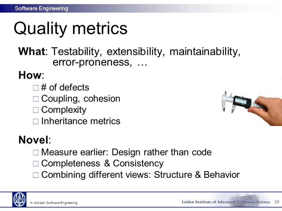 Quality Metrics In Software Engineering Most Freeware