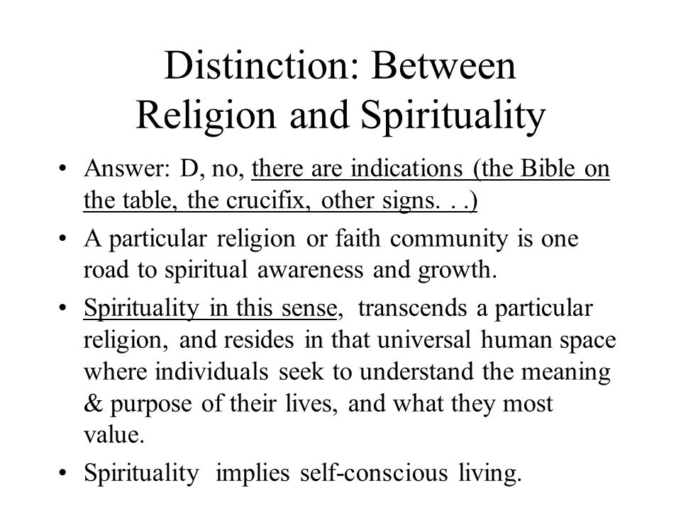 Spirituality In Medicine and Health Care - ppt download