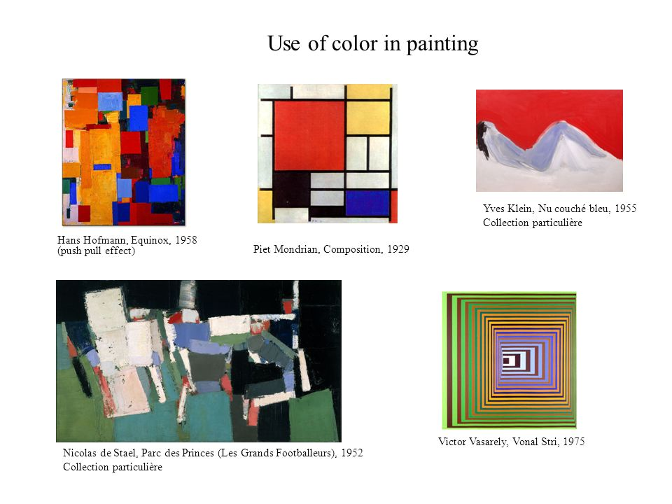 Use of color in painting