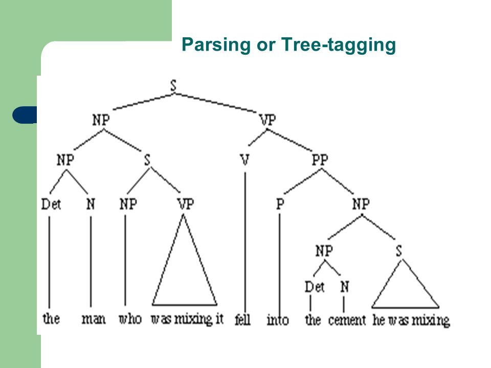 Parsing or Tree-tagging