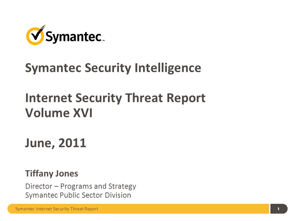 Symantec Security Intelligence Internet Security Threat