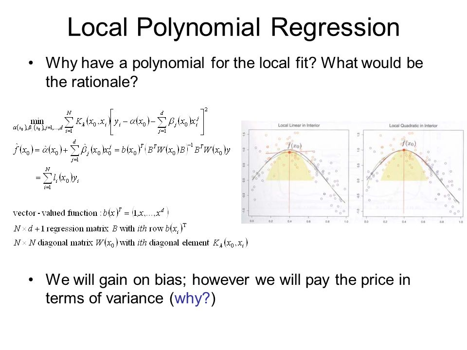 Local Polynomial Regression