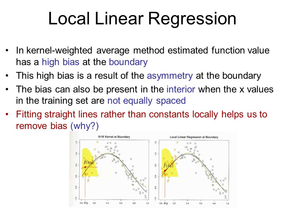 Local Linear Regression