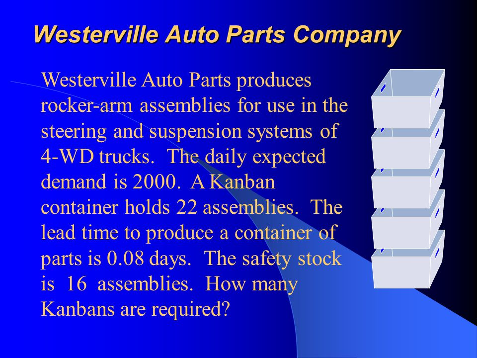 Westerville Auto Parts Company