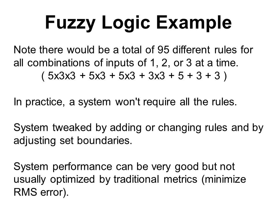 Fuzzy Logic Based on a system of non-digital (continuous & fuzzy without  crisp boundaries) set theory and rules  Developed by Lotfi Zadeh in 1965  Its advantage