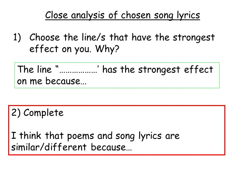 Lyric prodigal son song lyrics : Teaching 'textophobic' students - ppt video online download