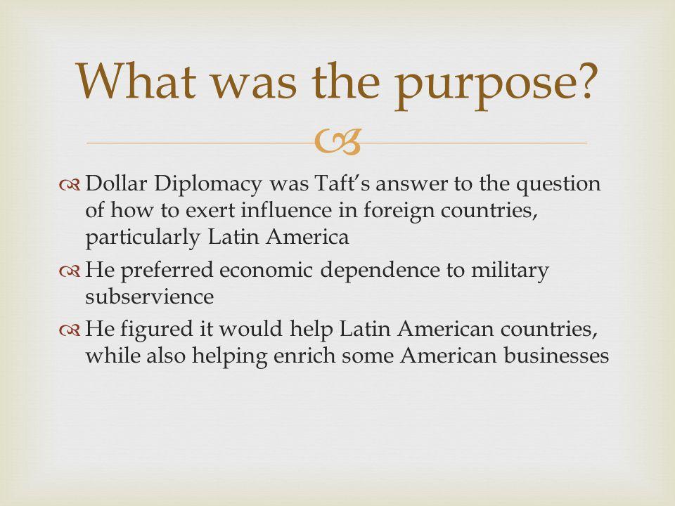Dollar Diplomacy  - ppt download