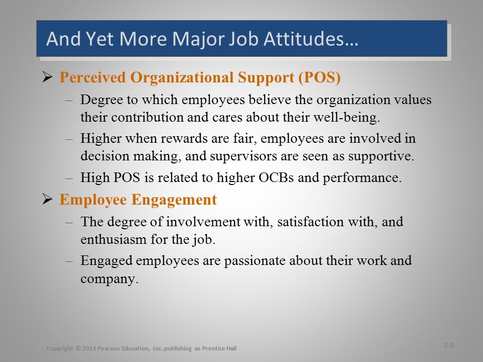 Are These Job Attitudes Really Distinct