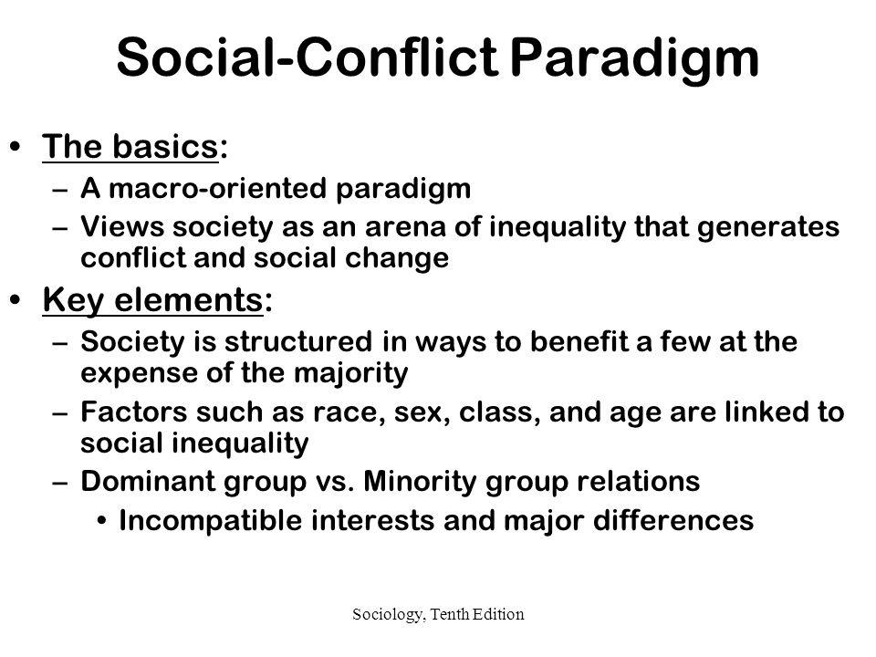 social conflict paradigm