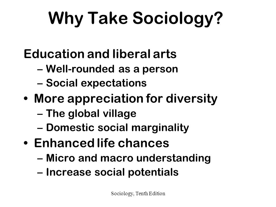 Sociology, Tenth Edition