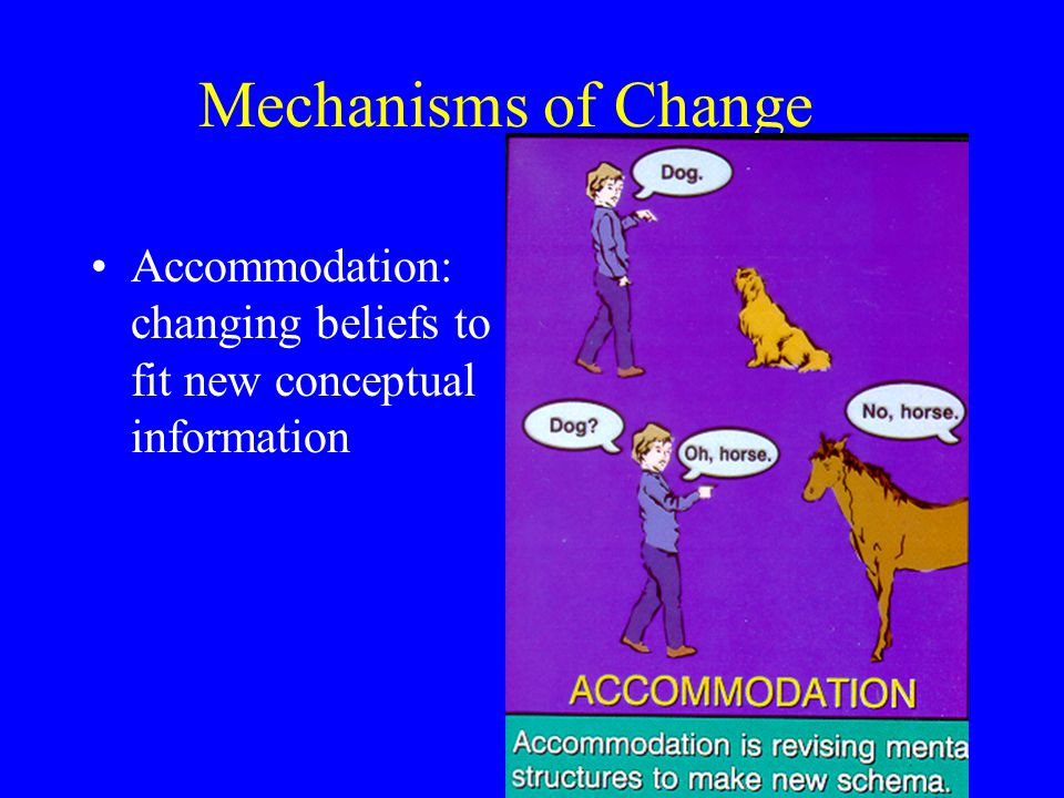 Mechanisms of Change
