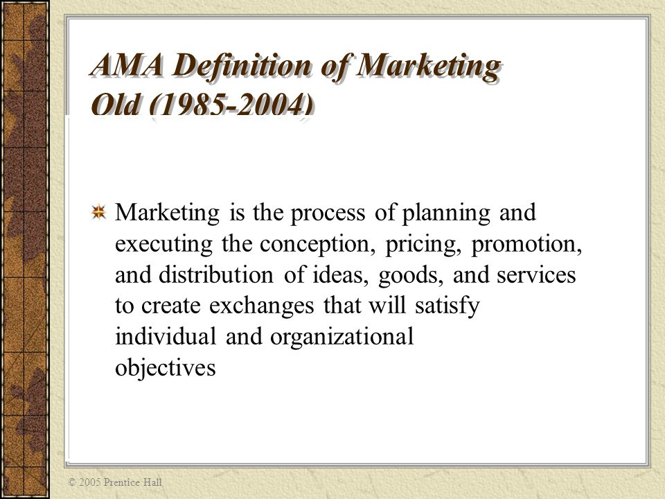"""ama marketing and definition Some important definitions of market research may be given as follows:  american marketing association, """"marketing research is the systematic gathering,."""