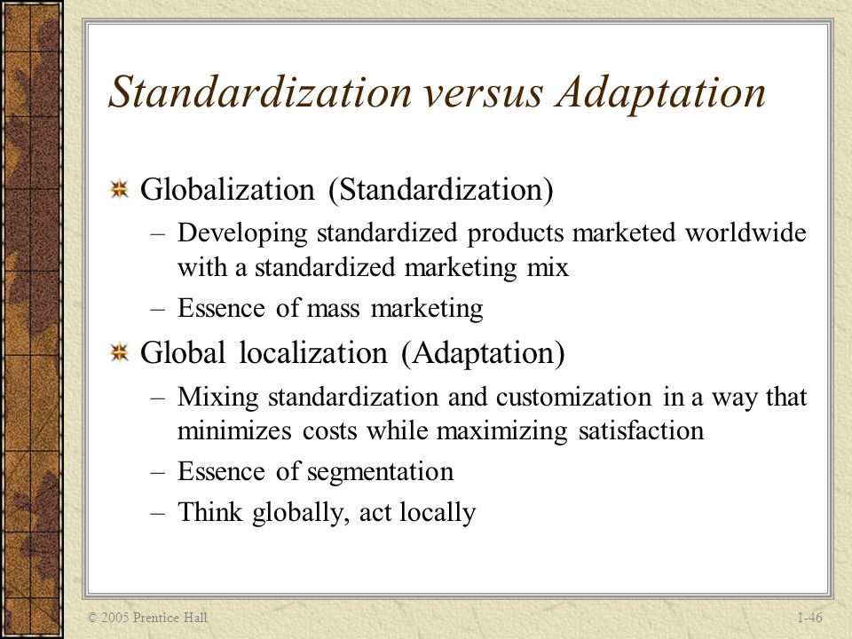 standardization and localization To find an appropriate balance between centralization and localization is a key  factor  websites, internationalization, adaptation, standardization, industry.