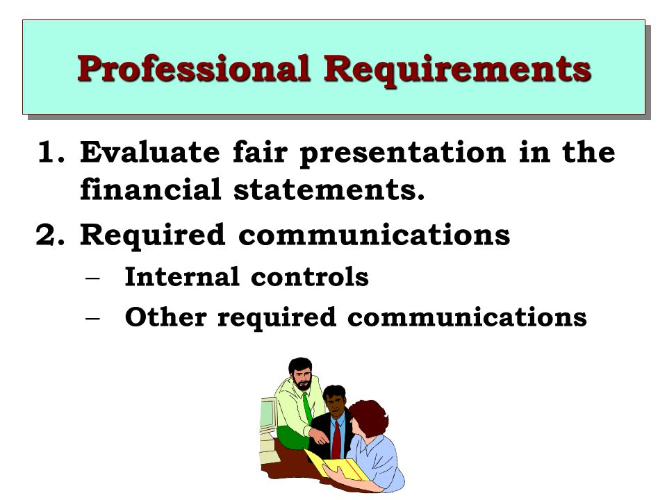 Professional Requirements