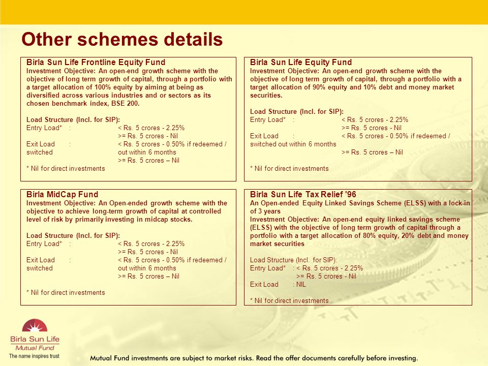 Birla Sun Life Pure Value Fund - ppt download