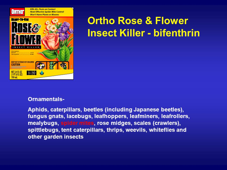 What has replaced Dursban, diazinon and Orthene?) - ppt video online
