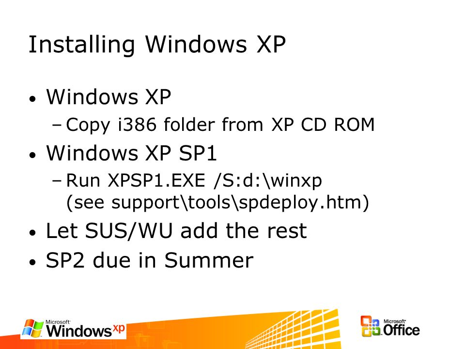 DOSSIER I386 WINDOWS XP TÉLÉCHARGER