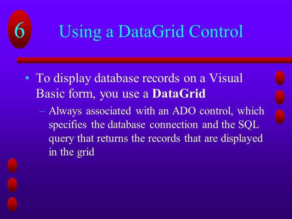 Using Visual Basic 6 0 to Create Web-Based Database