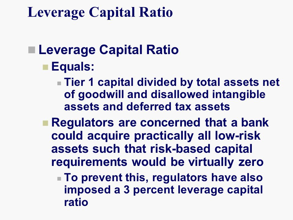Leverage Capital Ratio