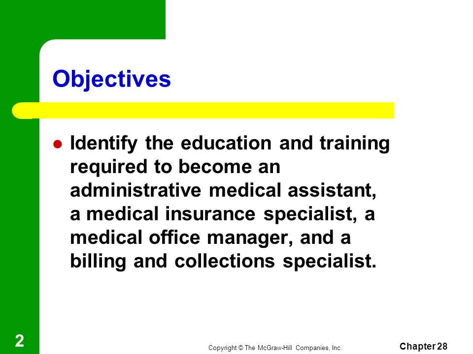 Chapter 28 Medical Office Ppt Video Online Download