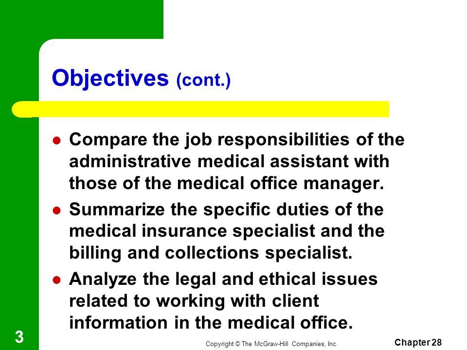 Chapter 28 Medical Office Ppt Video Online Download