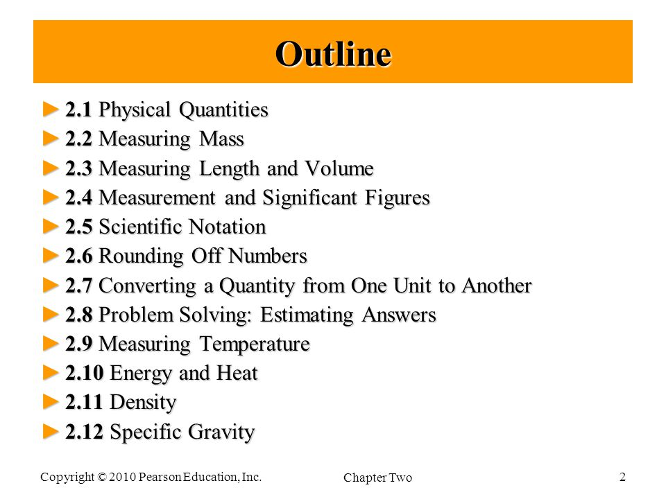 Measurements in Chemistry - ppt download