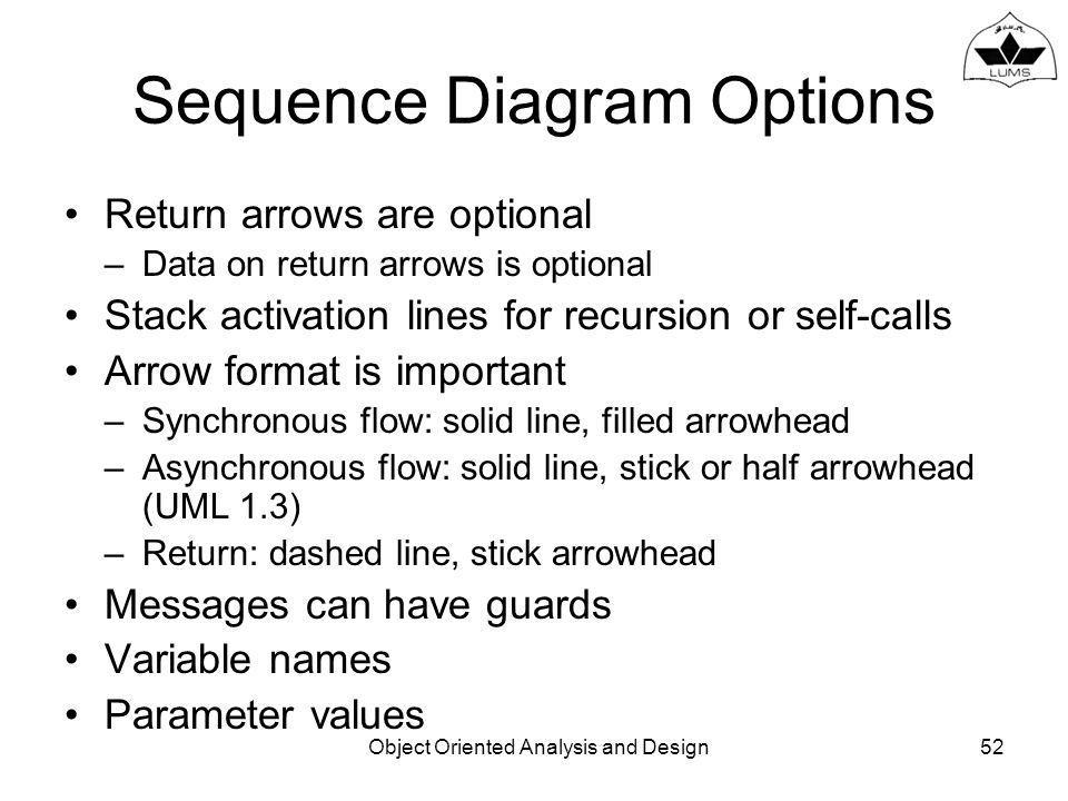 Introduction to object modeling ppt download 52 sequence diagram options ccuart Gallery