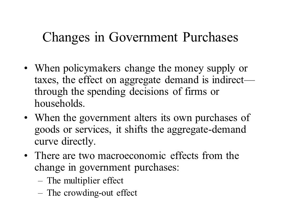 how to change policy in government