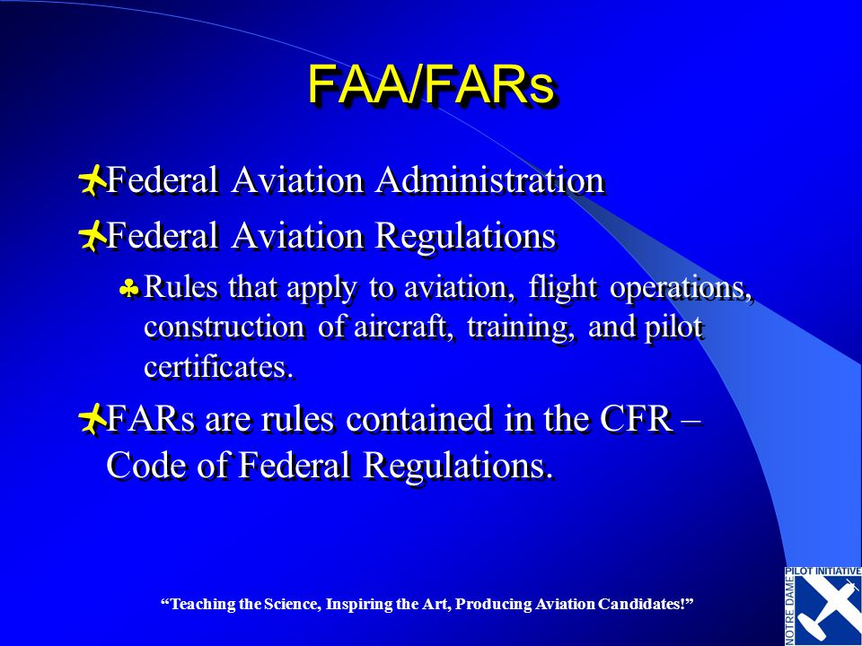 Federal Aviation Regulations Fun Stuff Ppt Video Online Download