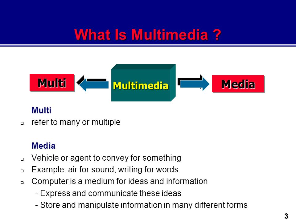 LECTURE 1 INTRODUCTION TO MULTIMEDIA - ppt video online download