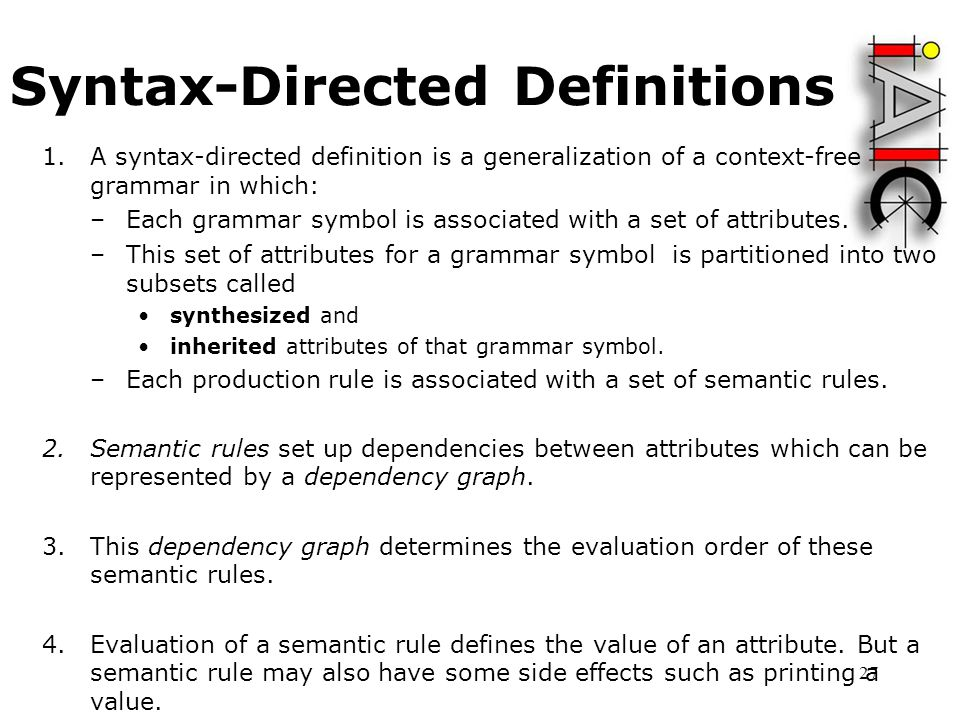 SYNTAX DIRECTED DEFINITION EBOOK DOWNLOAD
