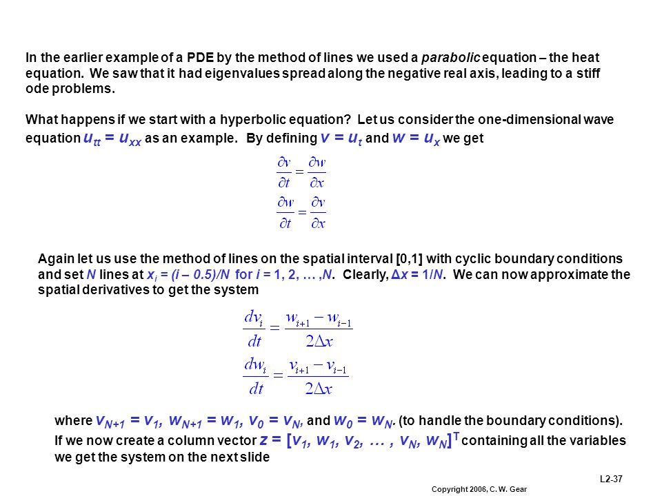 One Dimensional Heat Equation Examples