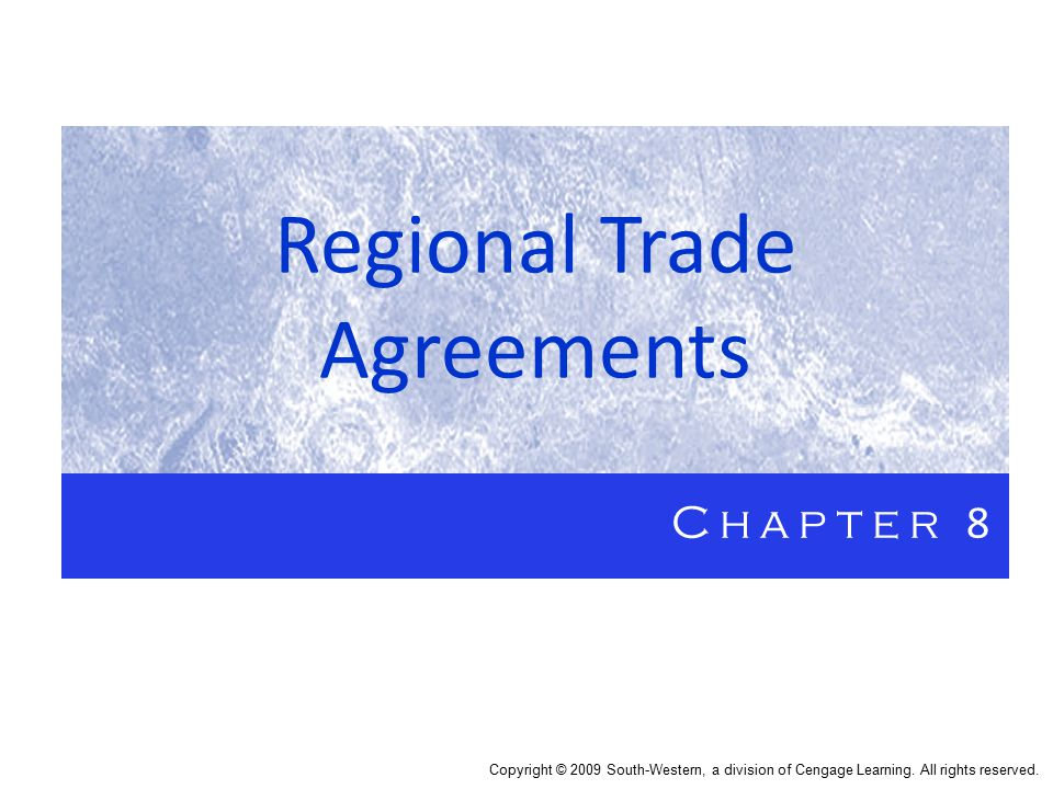 Regional Trade Agreements Ppt Download
