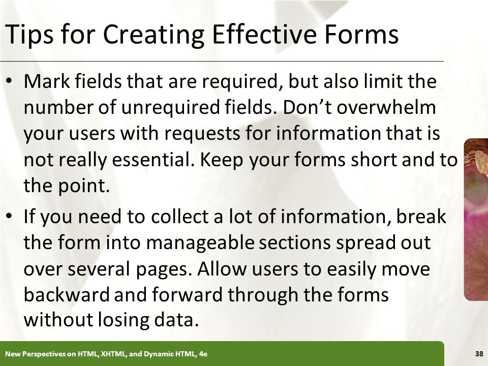 Tips for Creating Effective Forms