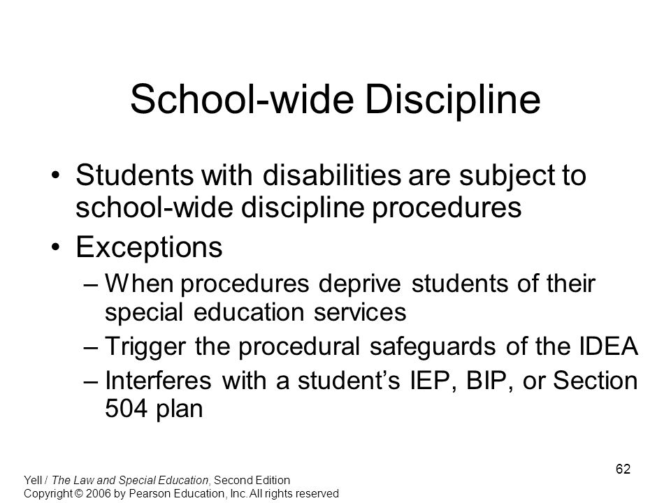 Special Education Procedural Safeguards >> Section 504 Of The Rehabilitation Act Ppt Download