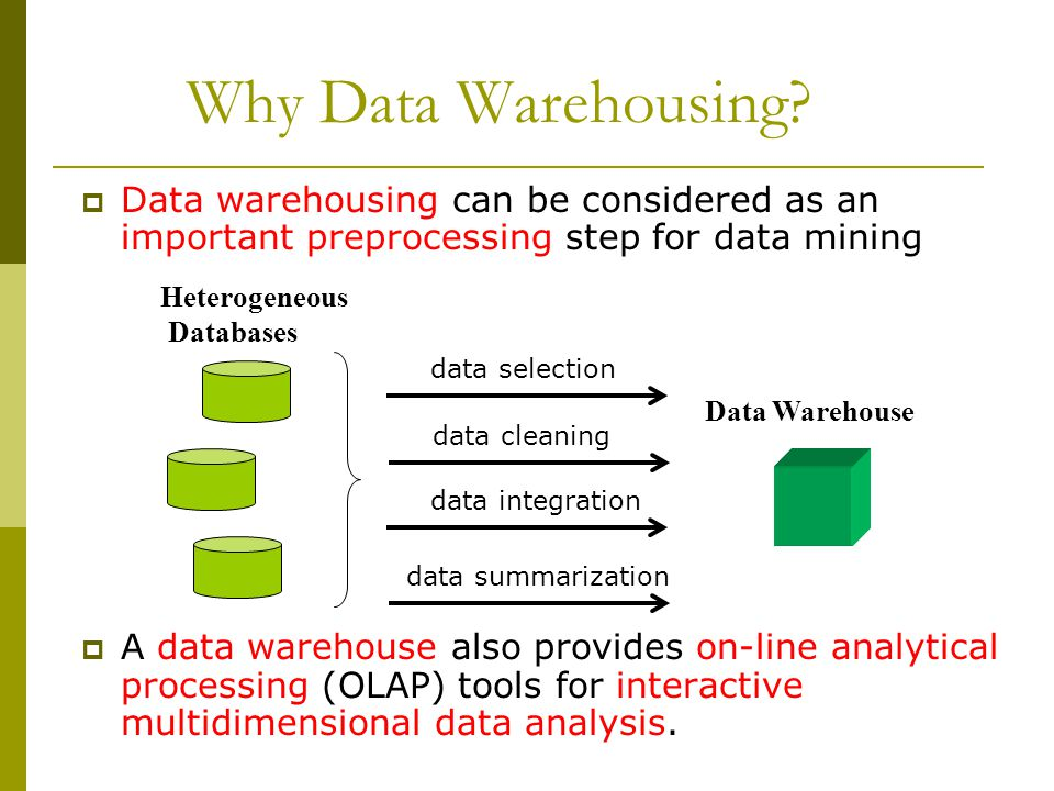 Data Warehouses and OLAP - ppt video online download