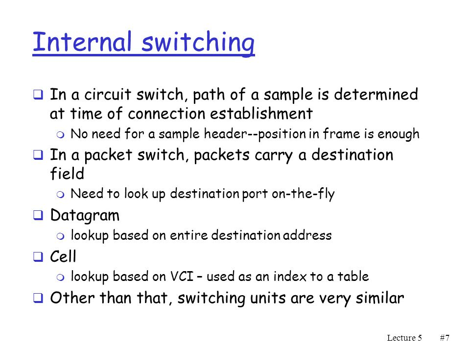 Switching Units. - ppt video online download